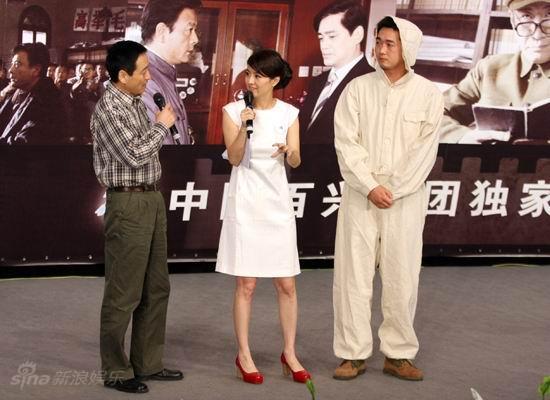 图文:《邓稼先》首映--导演解析防化服