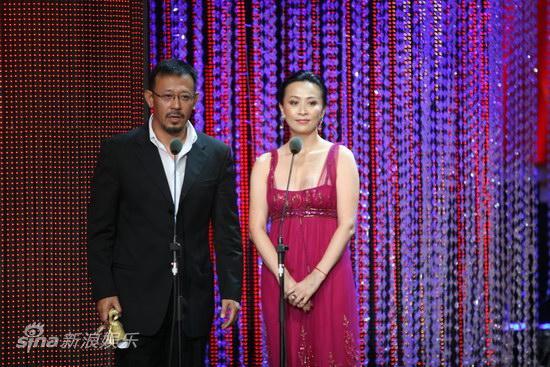 图文:第13届华表奖现场-姜文刘嘉玲