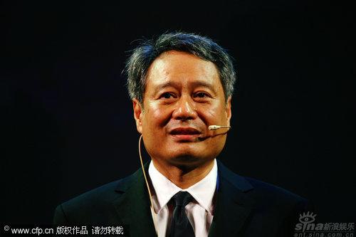 图文:威尼斯开幕内场-评审团主席李安致辞
