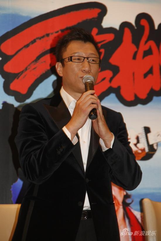图文:《三枪》上海宣传-孙红雷发言