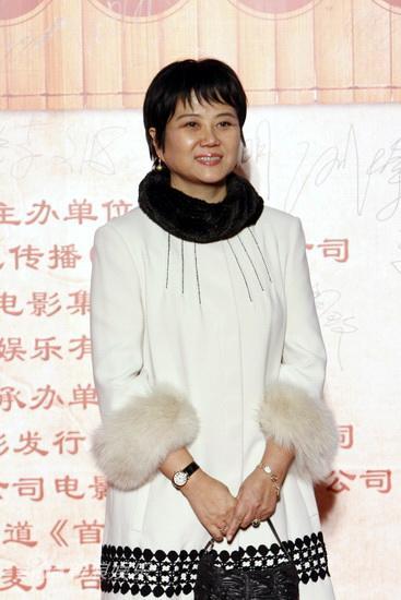 图文:《孔子》首映庆典-导演胡玫优雅