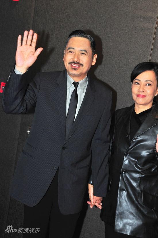 图文:《孔子》广东首映--周润发携妻亮相