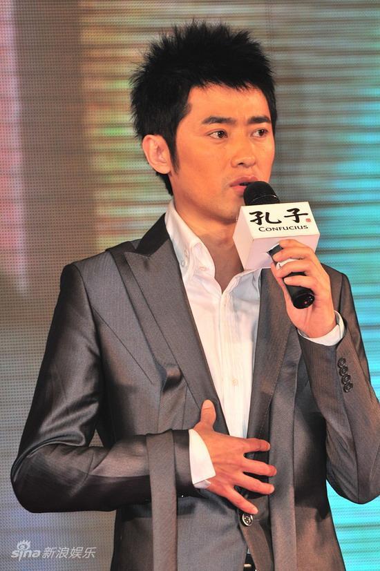 图文:《孔子》广东首映--任泉谈出演感想
