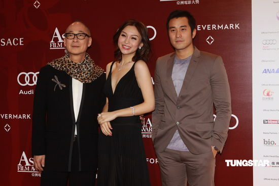 图文:亚洲电影大奖-《泪王子》三位主创