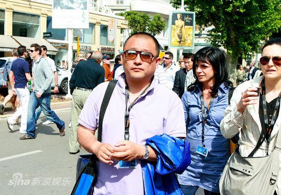 图文:《海上传奇》首映-王小帅捧场