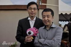 《海上传奇》庆功阿巴斯与六大电影节主席捧场
