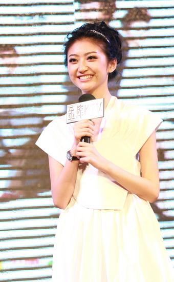 图文:《美女老板》主题曲首发--景甜甜美笑容