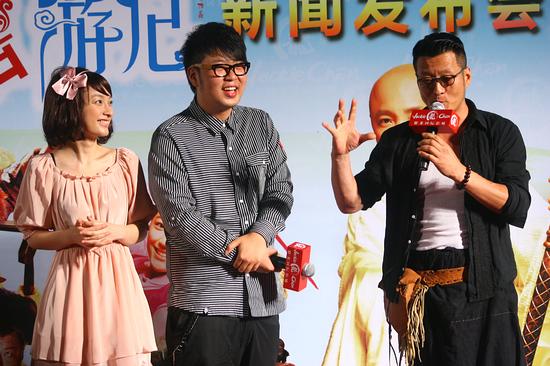 图文:《嘻游记》首映--孙兴分享拍戏轶事