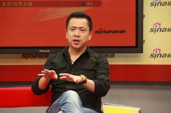 图文:《大地震》主创做客-王中磊侃侃而谈