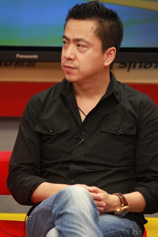 图文:《大地震》主创做客-王中磊谈新片计划