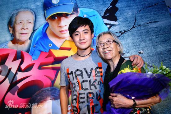 图文:《玩酷青春》首映-盛超和李滨