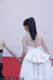 组图:陶晶莹经纬搭档走红毯黑白配相映成趣