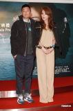 《情谜》香港首映余文乐否认和舒淇来电(组图)