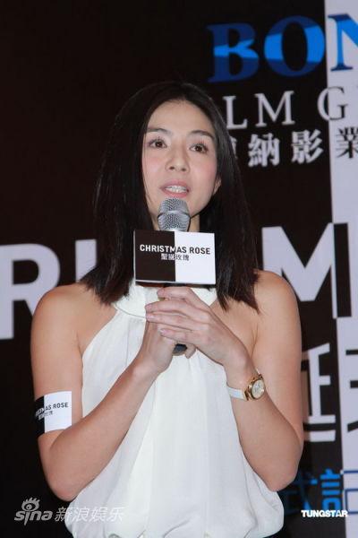 杨采妮接受采访
