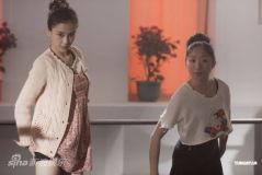 Angelababy《第一次》拍舞戏频受伤