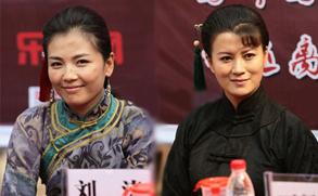 《两个女匪王》苦中热拍 刘涛史兰芽老公惜