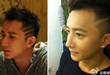 韩庚展示新发型