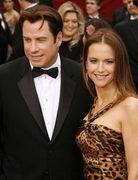 第79届奥斯卡金像奖-约翰屈伏塔和妻子