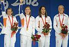 女子4x100米接力荷兰夺冠