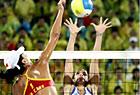 沙滩排球中国战胜希腊