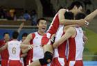 中国男排3-2胜日本