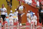 伊拉克女飞人参加百米预赛 跑出个人最好成绩