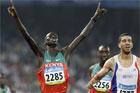 男子3000米障碍肯尼亚折桂