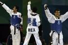 墨西哥选手跆拳道夺冠