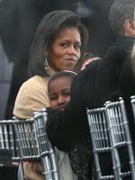 奥巴马夫人和女儿