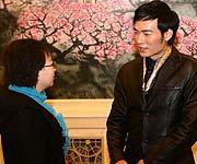 焦恩俊与领导对话