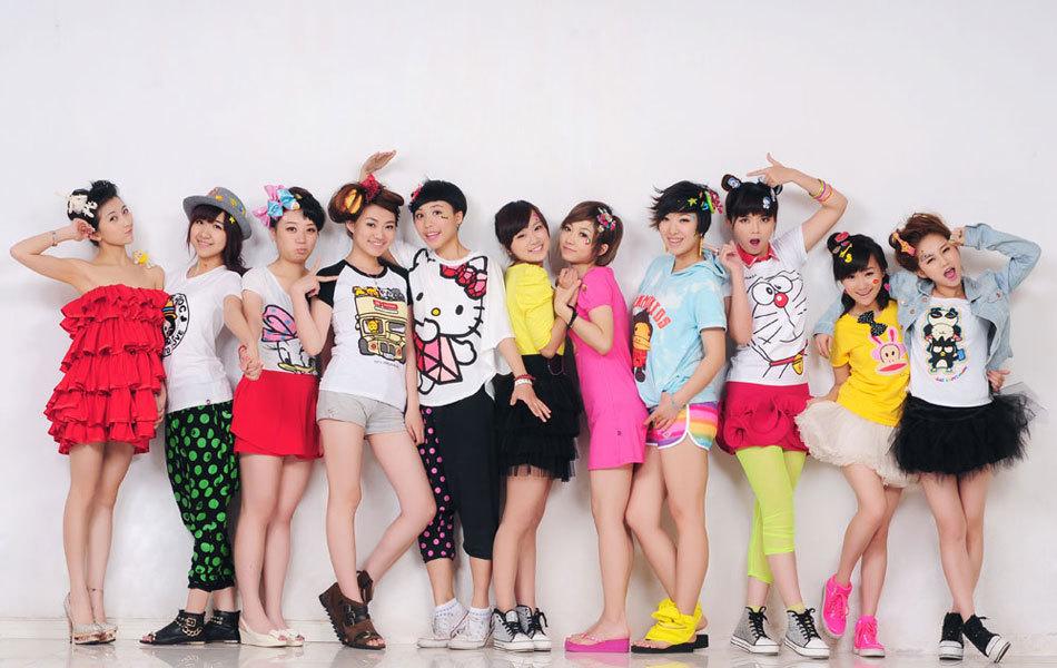 2011快乐女声杭州唱区11强写真