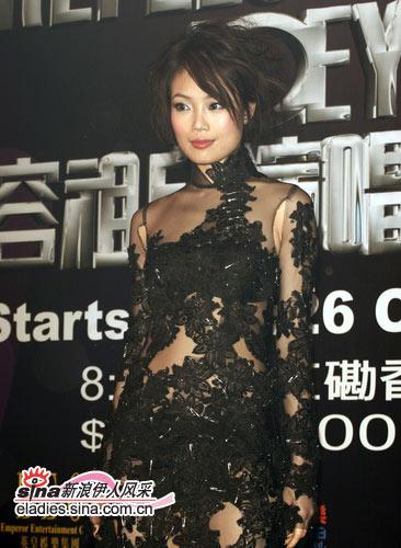 细数华语女星的旗袍情结:舞台姐妹之容祖儿