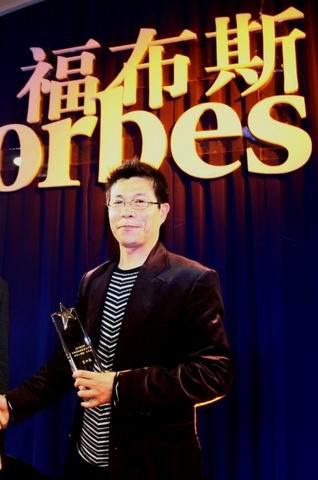 资料图片:07福布斯名人榜颁奖盛典-王中军