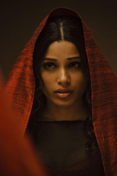 芙蕾达-平托在《惊天战神》中的剧照