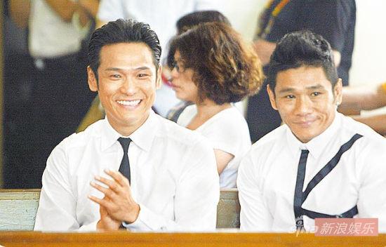 杜德伟两兄弟外貌颇为相似