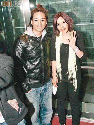 郭伟亮与太太叶佩雯