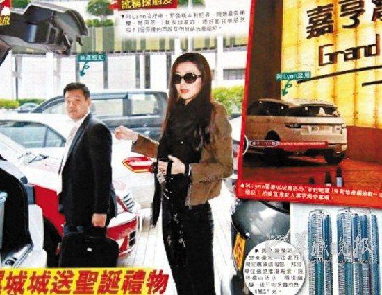 有香港杂志拍到熊黛林在西湾河看房