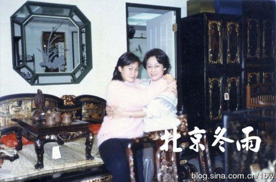 刘若英与妈妈