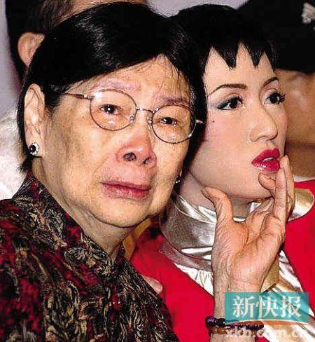 梅艳芳母亲