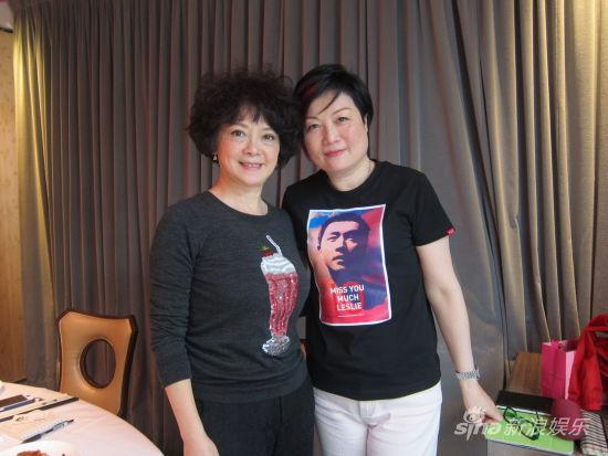 陈淑芬接受查小欣专访,回忆张国荣与她的相处。