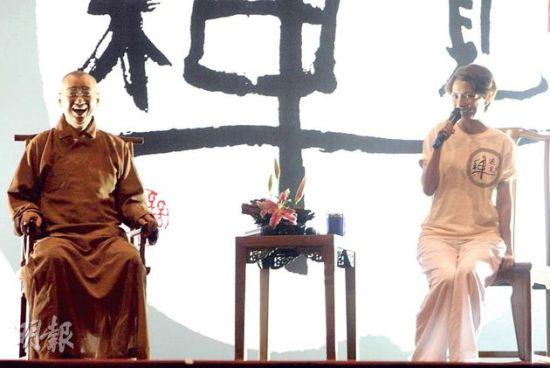 李心洁近年积极参与禅修活动及每天打坐