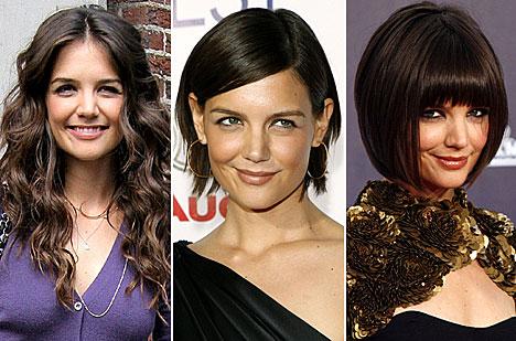 嫁给阿汤哥后不断尝试新造型调剂生活,去年11月把头发修成偏分短发图片