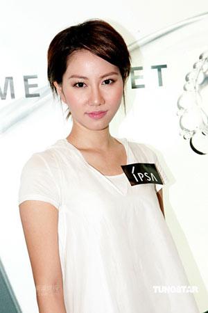 组图:周丽淇谢文雅出席化妆品牌开幕礼