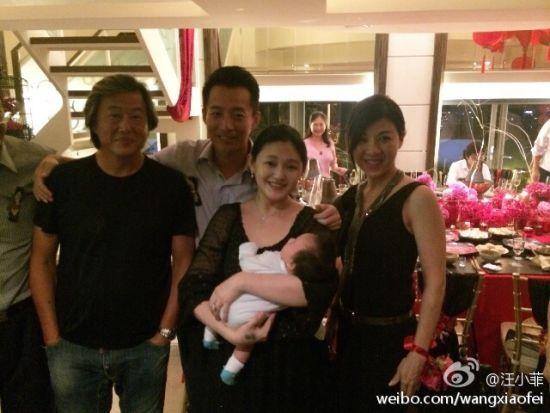 6月27日,大S抱女儿为汪小菲庆祝生日