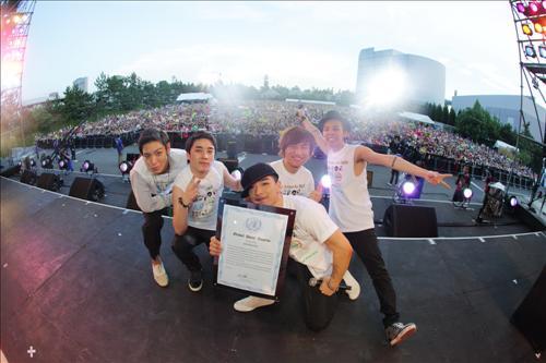 BigBang获联合国颁发的Global_Unity奖(图)