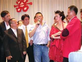 王志文与陈怡嘉温馨办婚礼情感高潮充溢全场