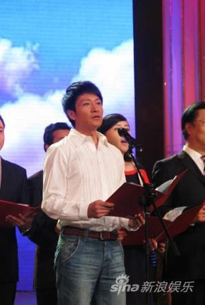 李宗翰为台湾募善款:两岸永远一家人(图)