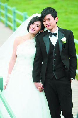 张杰、谢娜大婚