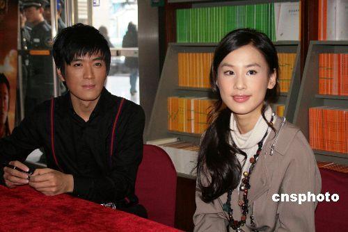 资料图:杨子(左)