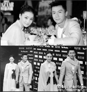 张馨予和李晨拍拖一年,两人都曾坚定认为找到真爱。